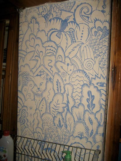 Hugh Dunford Wood Handmade Wallpaper